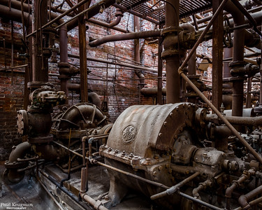 Sloss Furnaces, Blower Room #1