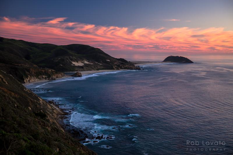 Point Sur Sunset