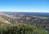 From the northeastern rim of Mesa Verde - down to the Mancos Valley - and the distal southeastern edge of the Colorado - Rocky Mountains Range