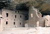Spruce Tree House - under the sandstone alcove of the Chapin Mesa - Mesa Verde National Park