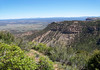 """From the North Rim, across The Knife Edge and Point Lookout - down and across the Montezuma Valley - Mesa Verde National Park (1906) - also a UNESCO, World Heritage Site """"Cultural"""" (1978). Mesa Verde translates to """"Green Table"""" from the Spanish language."""