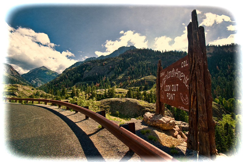 Overlook of Ouray, CO