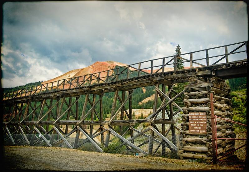 Abandoned Idarado Mine, CO