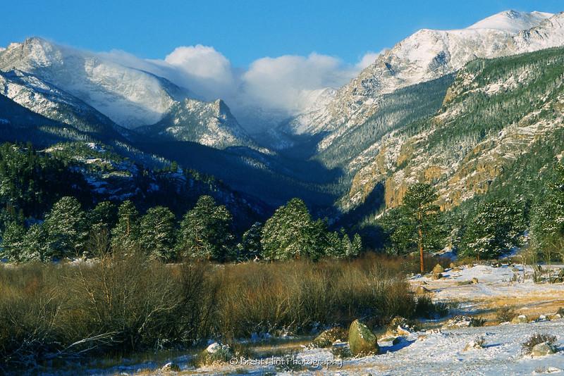 S.1888 - Moraine Park, Rocky Mountain National Park, CO.