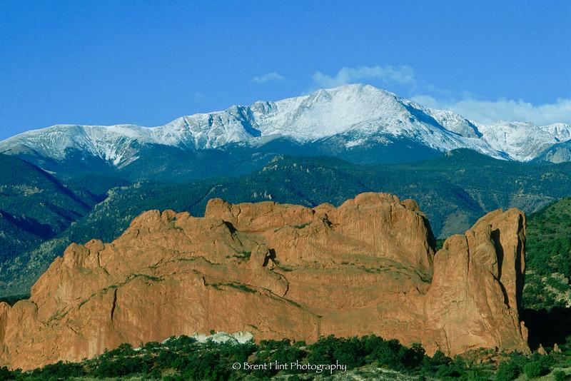 S.1851 - Pikes Peak, Garden of the Gods, Colorado Springs, CO.