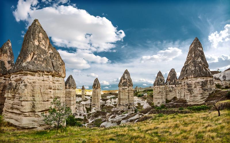 """""""Fairy chimneys"""" of Cappadocia, Turkey"""