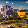 Morning baloon ride in Cappadocia, Turkey