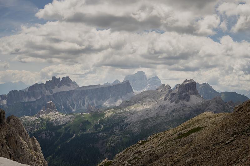 Views from Passo Falzarego