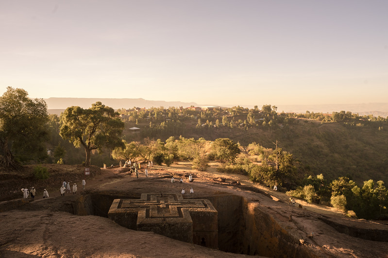 Lalibela : St George at dawn