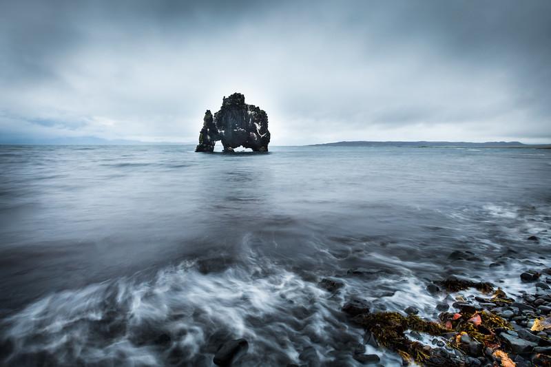 Hvitserkur Troll - Vatnsness Peninsula