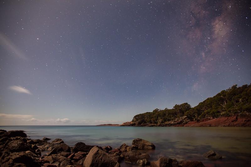 Full moon : Ben Boyd NP : NSW