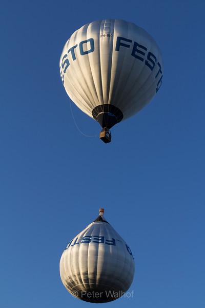 Colourful - Hot air ballooning