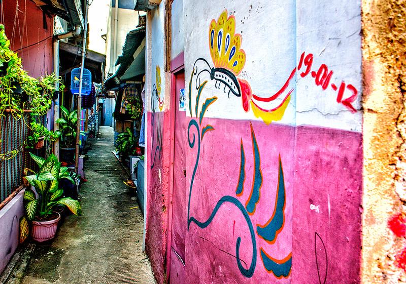 Colourful Kampungs, Jakarta, Indonesia