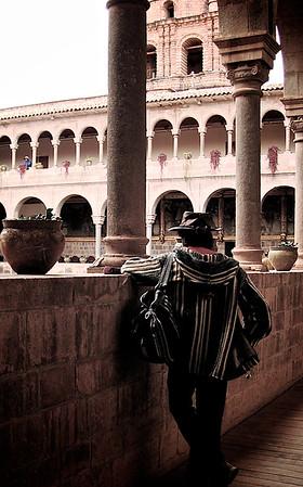 Man in Cuzco