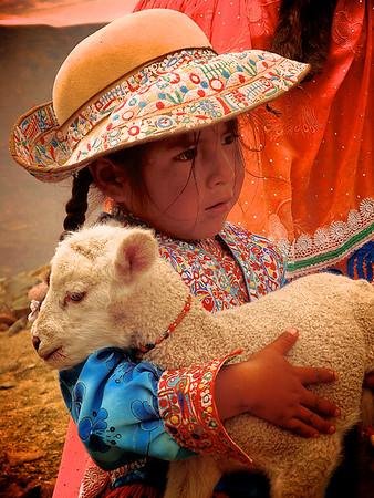 Peruvian Working Girl