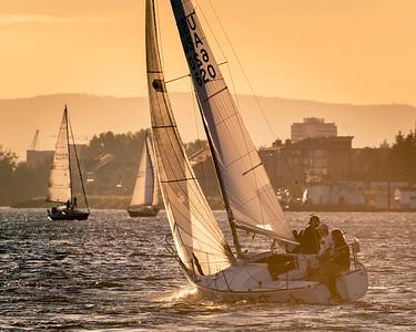 Evening Races, Columbia River, Oregon