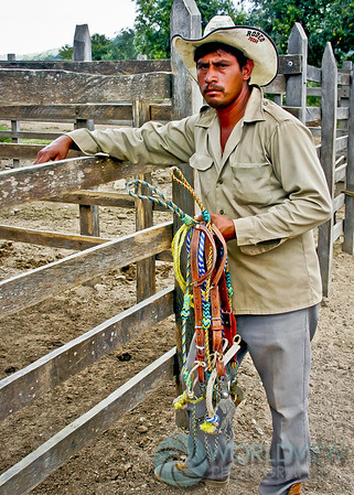 Ranch hand at Rancho Las Prietas (Chiapas, Mexico)