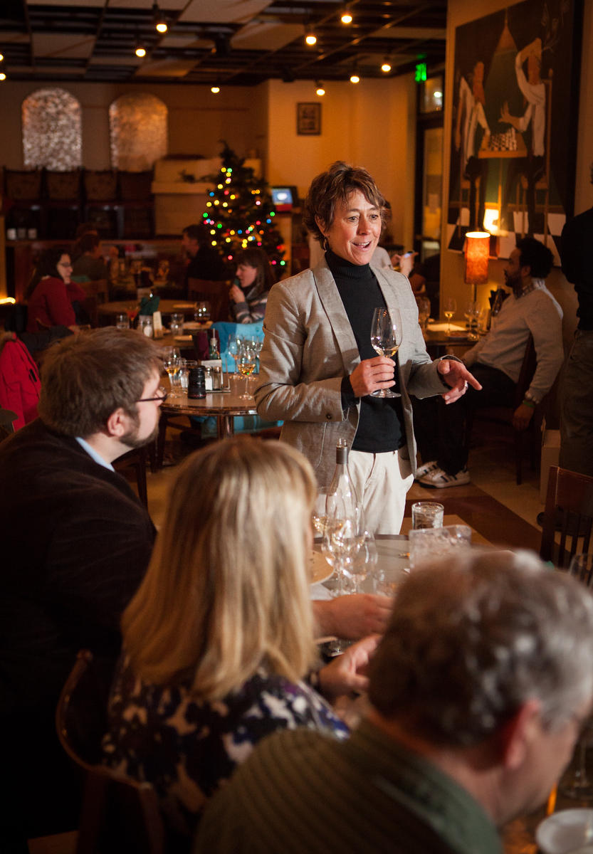 Holiday wine tasting event at Lavelle's Bistro in Fairbanks, Alaska