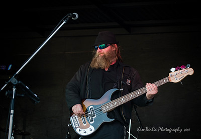 Badlands Boogie 2018 Music Festival Darren Genovese - Bass Player for the Beautiful Scars