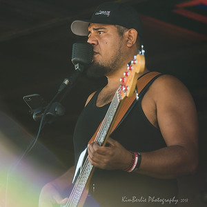 Wario Hernandez singing Sound of Silence Badlands Boogie 2018 Music Festival