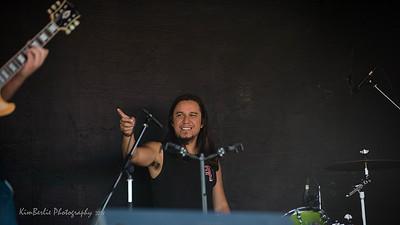 Badlands Boogie 2018 Music Festival Marco Antonio - Drums   La Trez Cuartoz