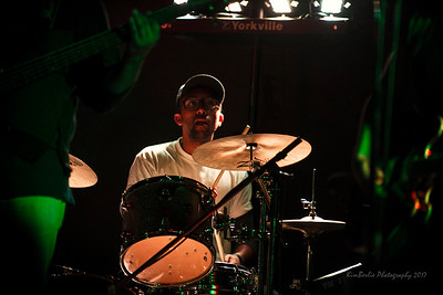 Drummer Willy Garcia of The North Sound