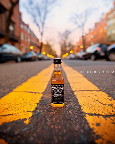 JD Travel Bottle on Mt Vernon Street in Beacon Hill