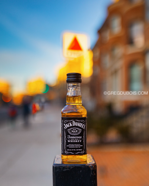 JD Travel Bottle at Kenmore Square with Citgo Sign