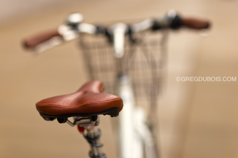Zagster Bicycle Seat Detail with Bokeh