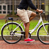 Zagster Bicyclist on College Campus