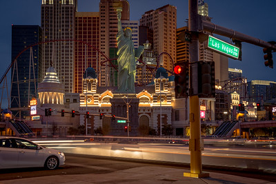 Las Vegas Blvd and New York New York