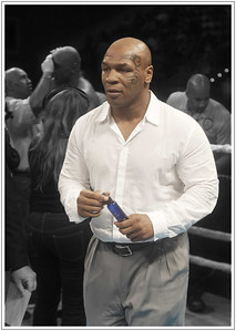 Wandering through a dream Mike Tyson