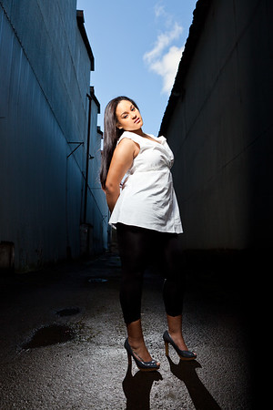 Roselynn Williams - Model Session, January 17, 2011.