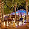 Desert Ridge Night Fountains