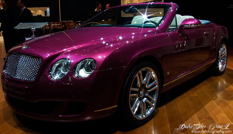 Bentley @ Geneva Motor Show , Geneva-Switzerland