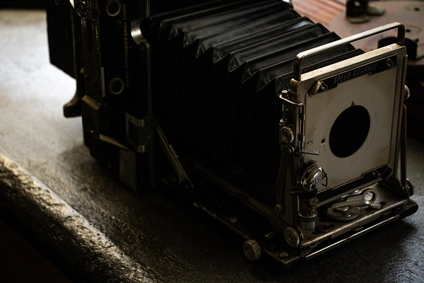 Antique Speed Graphic Camera
