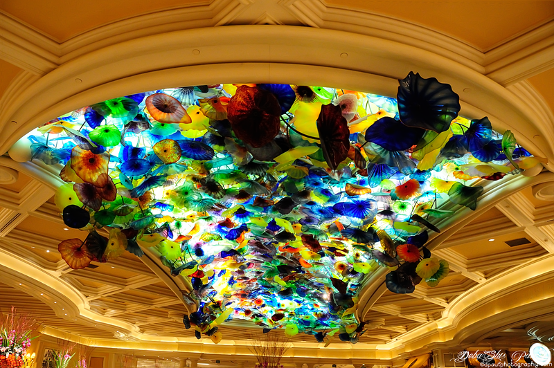 Inside Casino Bellagio - Las Vegas, USA
