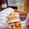 Moe's Original BBQ Shrimp Moe Boy Sandwich in Eagle, Colorado.