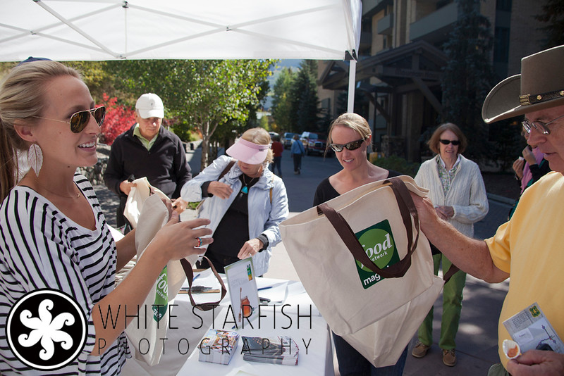 Food Network Magazine at The Vail Farmer's Market in Vail, Colorado.