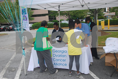 Overcome Ovarian Cancer Run/Walk- DeKalb Medical Center- September 21, 2013