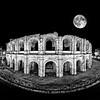 Moon over Arles