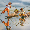 Fishermen Reflection