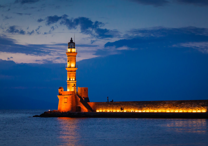 Lighthouse at Chania