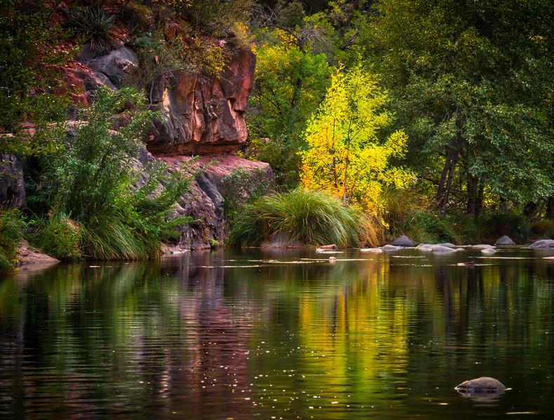Oak Creek in the Fall