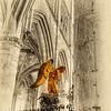 The Golden Angel of Caudebec