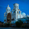 Day's First Light at Mission San Xavier