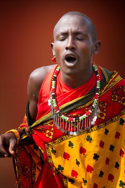 Maasai Dancer