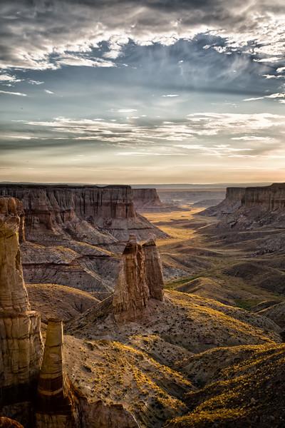 Sunrise at Coal Mine Canyon