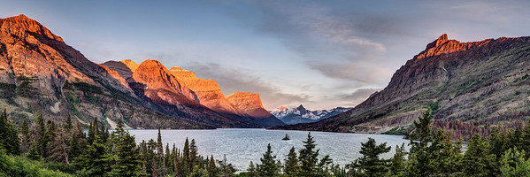 Saint Mary Lake Sunrise