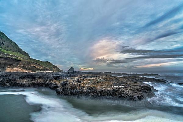 Sunset at Perpetua Marine Garden
